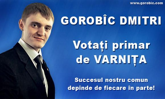 Gorobîc Dmitri, Primar de Varnita