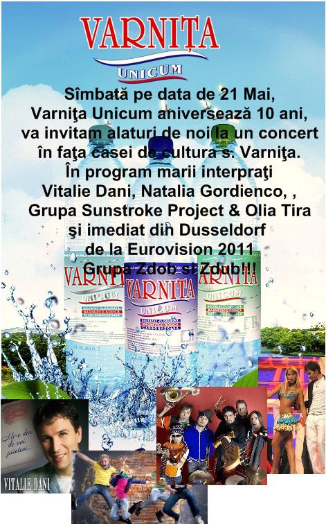 Varnita Unicum aniverseaza 10 ani