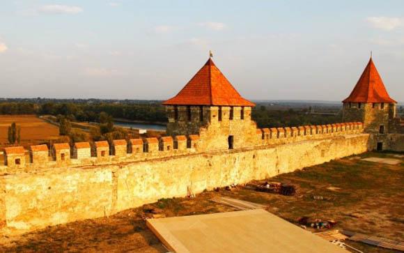 Cetatea Bender in renovare