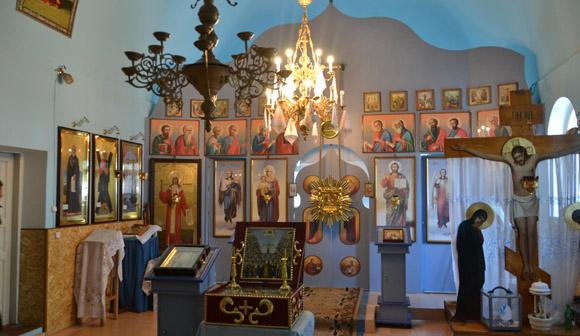 Interiorul mănăstirii