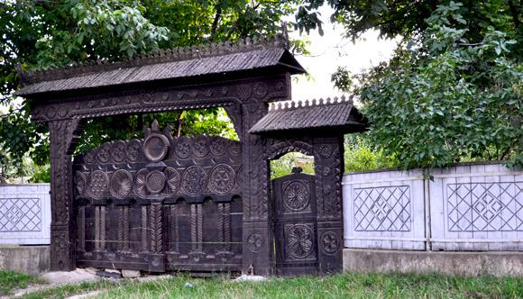 Casa lui Grigore Vieru din Cernoleuca