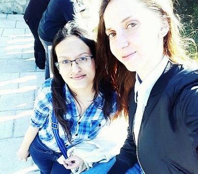 Elena Ţicău şi Valeria Vasian