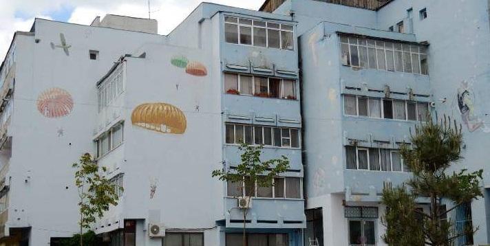 """Un bloc pictat pe care l-am """"descoperit"""" prin Iași"""